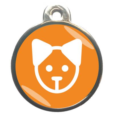 Kattengezicht Classic Oranje