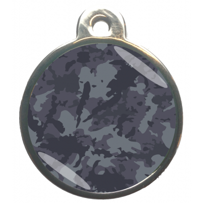 Camouflage Blauw Grijs