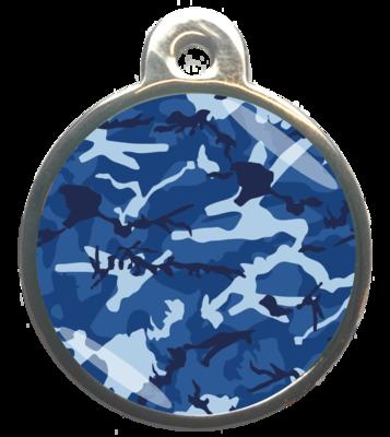 Camouflage Blauw